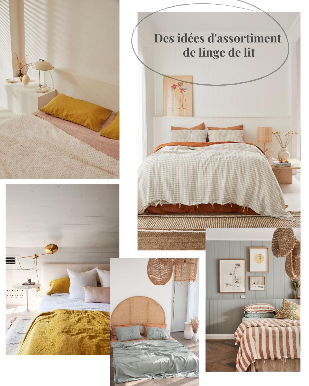 astuces déco idées linge de lit