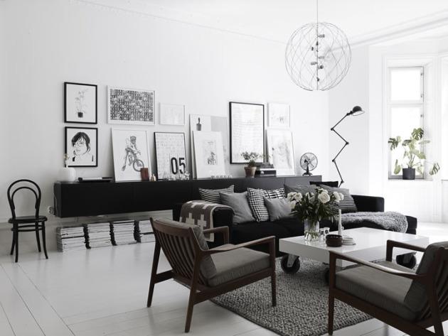 Inspiration : le noir et blanc