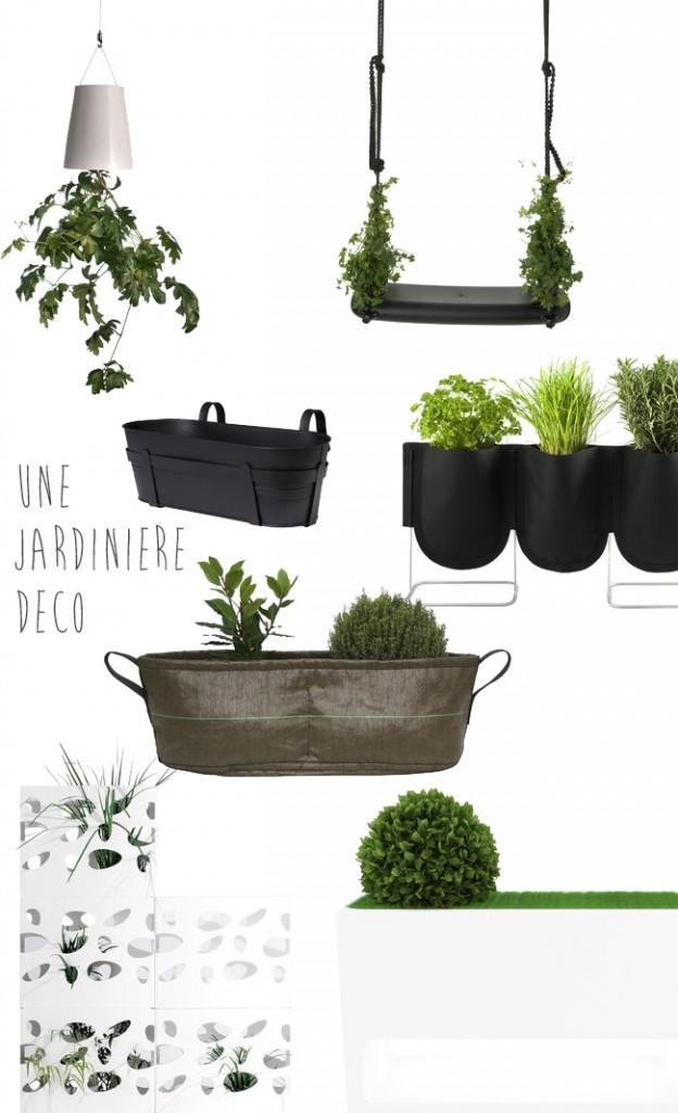 Des blogs … Une thématique : Une jardinière déco sinon rien