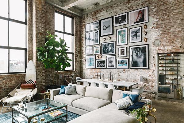 Inspiration déco : un loft à Brooklyn