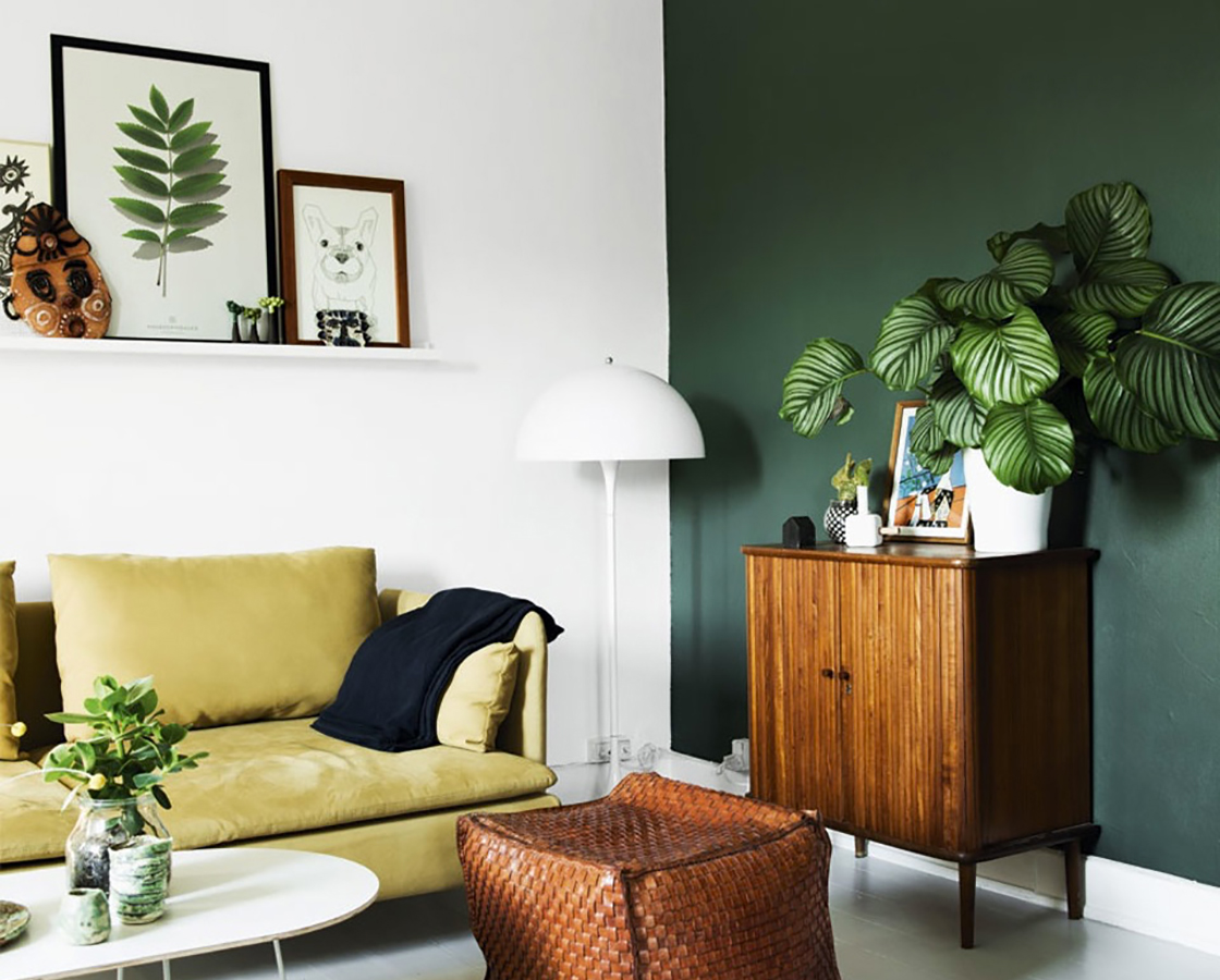 4 Facons D Adopter Le Vert Dans Sa Deco Blueberry Home